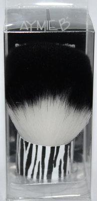 Aymie B' GOTTA B URBAN Zebra Print Kabuki Brush