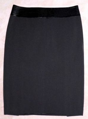 Laundry By Shelli Segal Black Lined Tuxedo Skirt (Size 2) *Reduced*