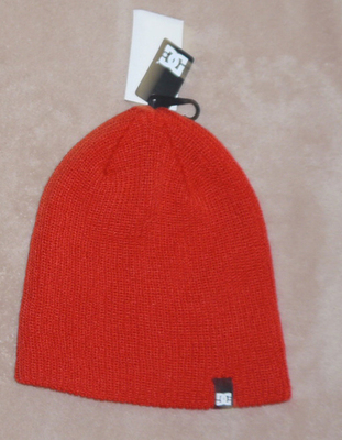 DC CLAP Mens Beanie Skull Cap Hat -Red (One Size)