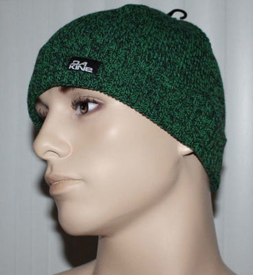 Dakine GUS Men's Green Marbled Cuffed Beanie Hat (One Size)