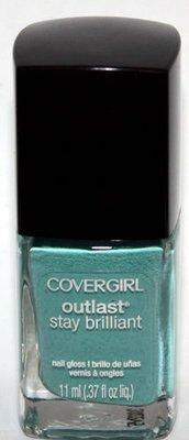 CoverGirl OUTLAST Stay Brilliant Nail Gloss Polish Lacquer (Mint Mojito)