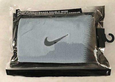 Nike Premier Light Armory Blue/Armory Navy Swoosh Double-Wide Wristbands