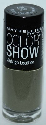Maybelline New York COLOR SHOW Vintage leather Nail Polish #850 SAGE STAPLE .23 oz