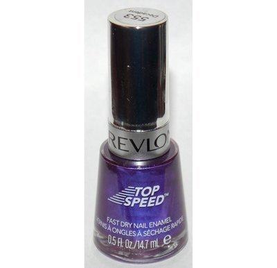 Decadent #553  (Top Speed) -Revlon Nail Polish Enamel 0.5 oz