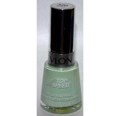 Jaded #320 (Top Speed) -Revlon Nail Polish Enamel 0.5 oz