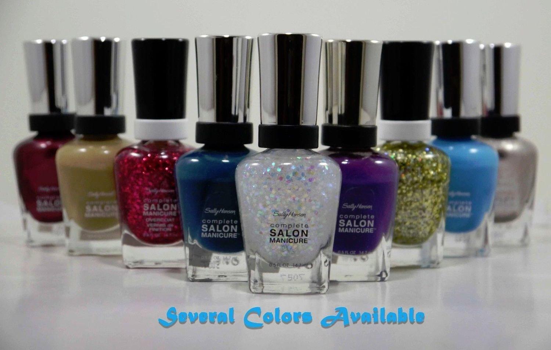Sally Hansen Complete SALON Manicure Nail Polish 0.5 fl. oz Each -Several Colors