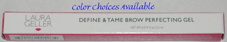 Laura Geller Define & Tame Eye Brow Perfecting Gel 0.074 oz