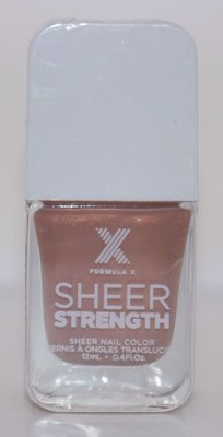 Ardent Sheer Nail Color -FORMULA X For Sephora Effects Nail Color Polish Lacquer .4 oz