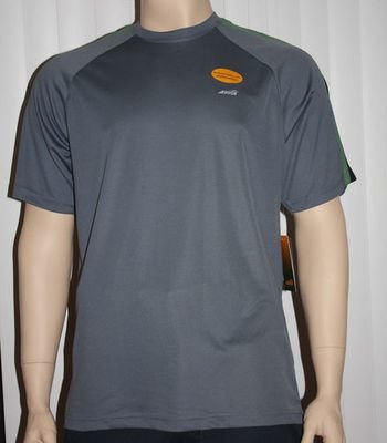 Avia Men's Dri-Control UPF 25 /UV Protection Shirt - Gray (Several Sizes)