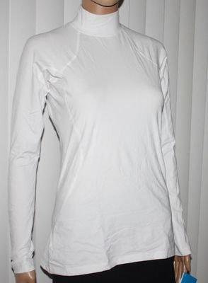 Columbia Women's Baselayer Midweight Mock Neck LS Shirt - White (Several Sizes)