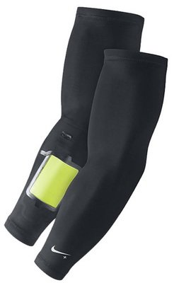 NIKE + Long Sleeves Unisex Workout Sleeves With Mobile Device Pocket (Several Sizes)