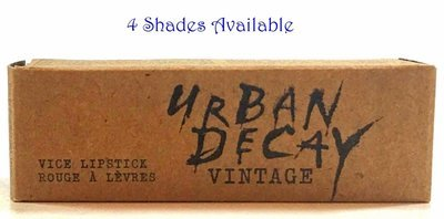 Urban Decay Vice Lipstick Vintage Capsule Collection 0.11 oz (Several Shades)