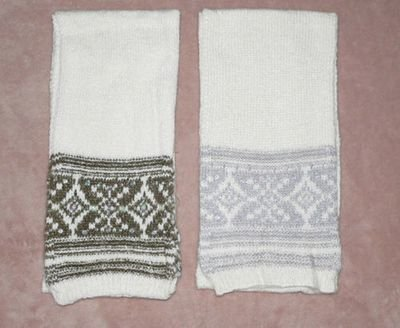 American Eagle Women's Fair Isle Scarf