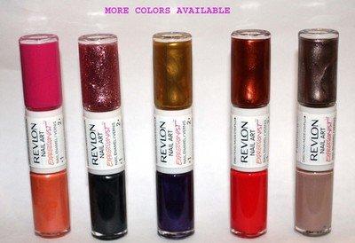 Revlon Nail Art EXPRESSIONIST Nail Enamel Polish .26 oz (Several Colors)