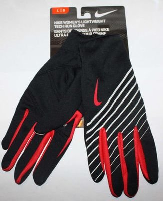 Nike Women's Lightweight Tech Run Gloves -Black (Several Sizes)