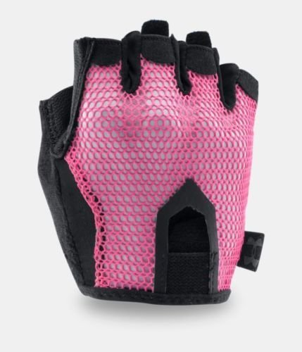Under Armour Women's UA Resistor Training Gloves -Pink Sky (X-Large)