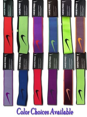 Nike Pro Swoosh 2.0 Headband -Chlorine/Light Green Spark