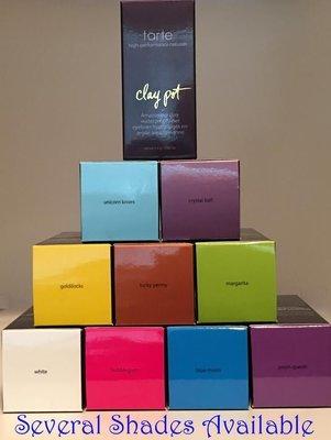 Tarte Limited-Edition Clay Pot Waterproof Shadow Eyeliner 0.08 oz -Several Shades