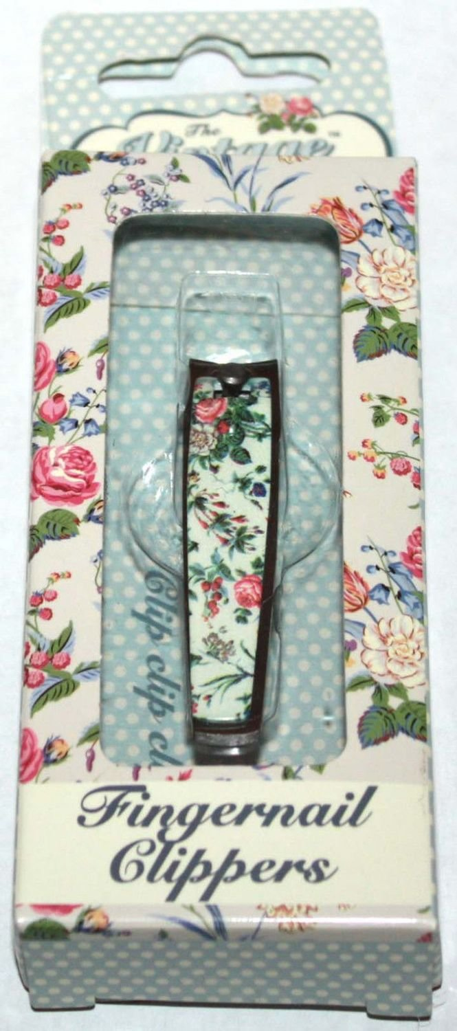 The Vintage Cosmetic Company Floral Fingernail Clippers