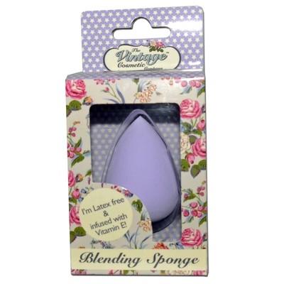 The Vintage Cosmetic Company Latex Free Light Purple Blending Sponge