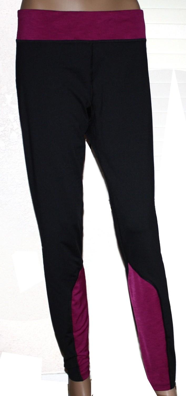 Under Armour Coldgear Women's Black/Aubergine Fitted Pants (X-Large)