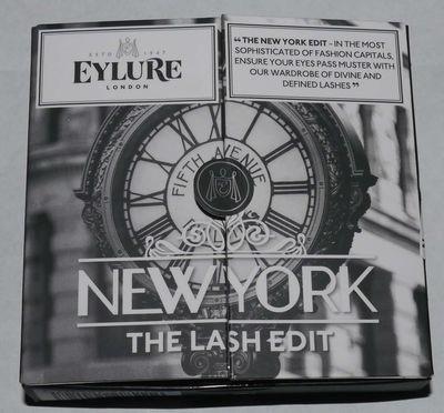 Eylure London Set of 3 The Lash Edit - New York Re-Usable False Eye Lashes