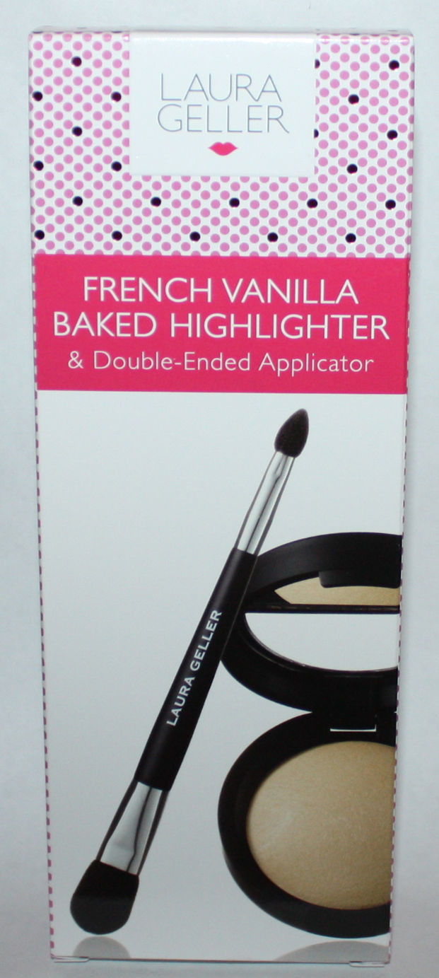 Laura Geller Baked Highlighter With Double-Ended Applicator FRENCH VANILLA