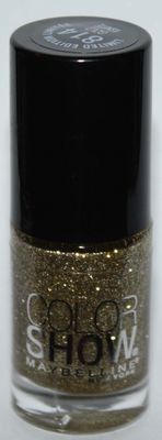 Maybelline New York COLOR SHOW Nail Polish #814 Gold Ignite .23 oz