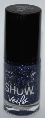 Maybelline New York Color Show Veils Nail Polish Top Coat #618 Amethyst Aura  .23 oz