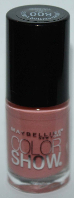 Maybelline New York COLOR SHOW Nail Polish #800 I Got You Beige .23 oz