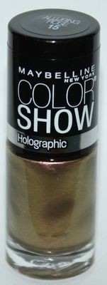 Maybelline New York COLOR SHOW Holographic Nail Polish #15 Alluring Rose .23 oz