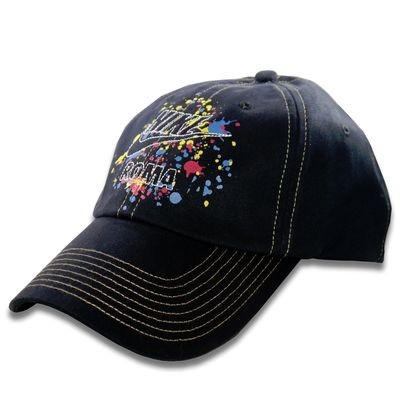 Nike Unisex Black/Multi-Color ROMA Graphics 6 Panel Adjustable Hat