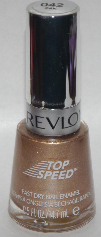 24K #042 (Top Speed) -Revlon Nail Polish Enamel 0.5 oz