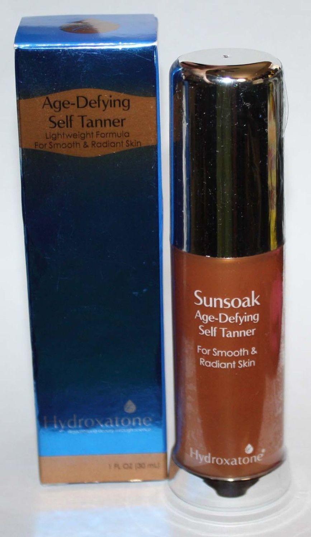 Hydroxatone Sunsoak Age-Defying Self Tanner 1 oz *Reduced*