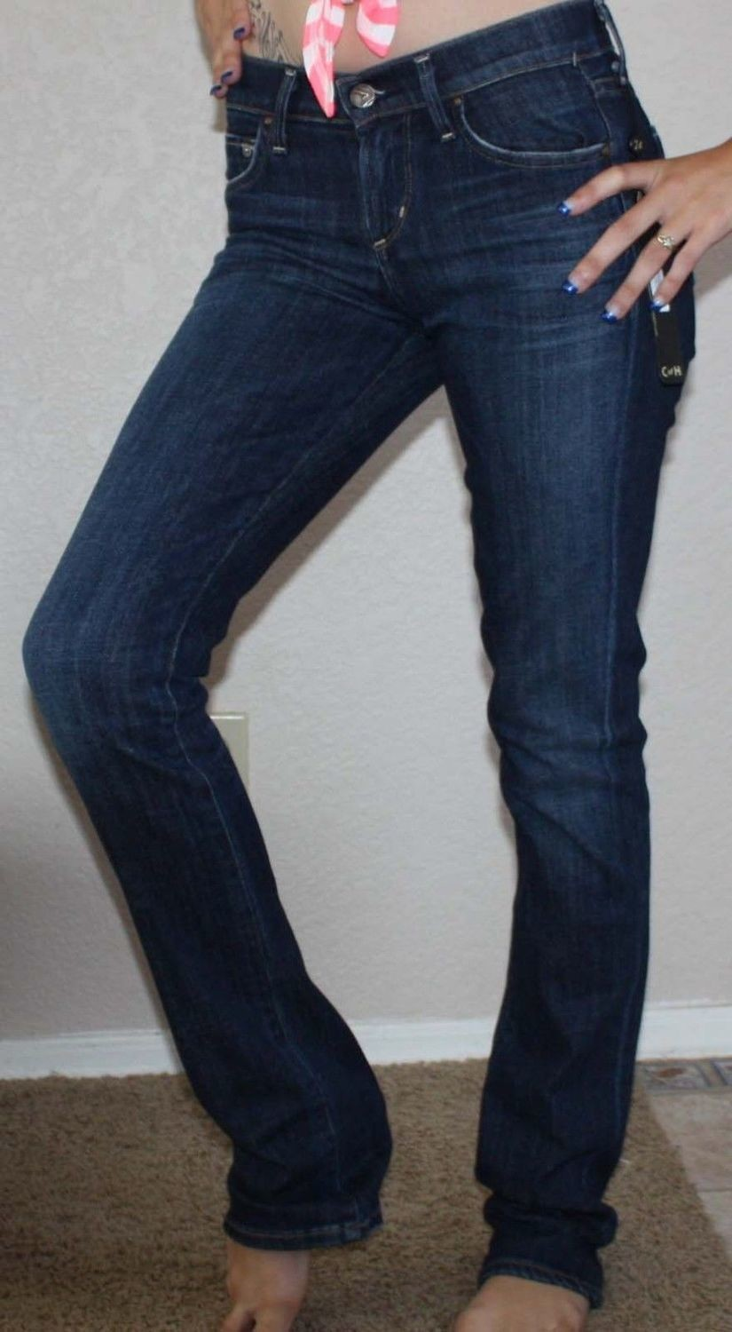 Citizens Of Humanity Women's Ava Low-Rise Straight leg Jeans In Galaxy (24 Regular)