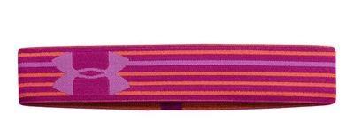 Under Armour ALPHA Women's Magenta Shock/Afterglow/Jellyfish UA Stripe Headband