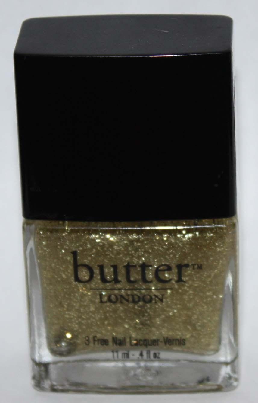 Stratford Honey -Butter LONDON Nail Polish Lacquer .4 oz