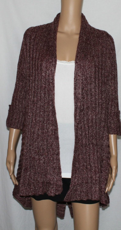 BCBG MaxAzria Women's Knit Muli-Length Cardigan Sweater  (Medium) *Reduced*