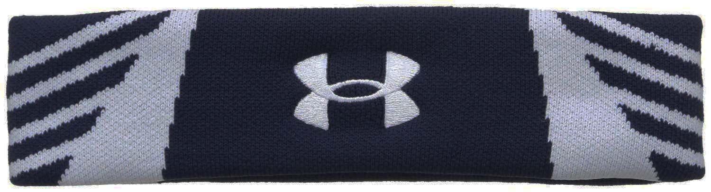 Under Armour Midnight Navy/White/White UA Undeniable Headband (One Size)
