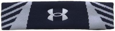Under Armour Midnight Navy/White/White UA Undeniable Headband (One Size)