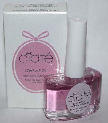 Ciate Nail Love Me Oil Cranberry Cuticle Oil 0.45 oz