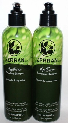 Lot Of 2 Zerran RealLisse Smoothing Shampoo 8 oz Each *Reduced*