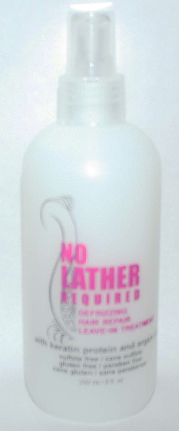 Luxo No Lather Required Defrizzing Hair Repair Leave-In Treatment 8 oz
