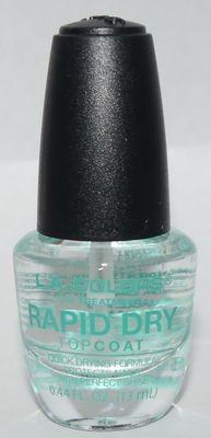 LA Colors Rapid Dry Top Coat 0.44 oz
