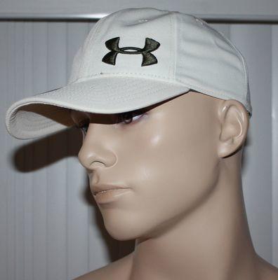 Under Armour Heatgear Men's Adjustable Hat -Cream