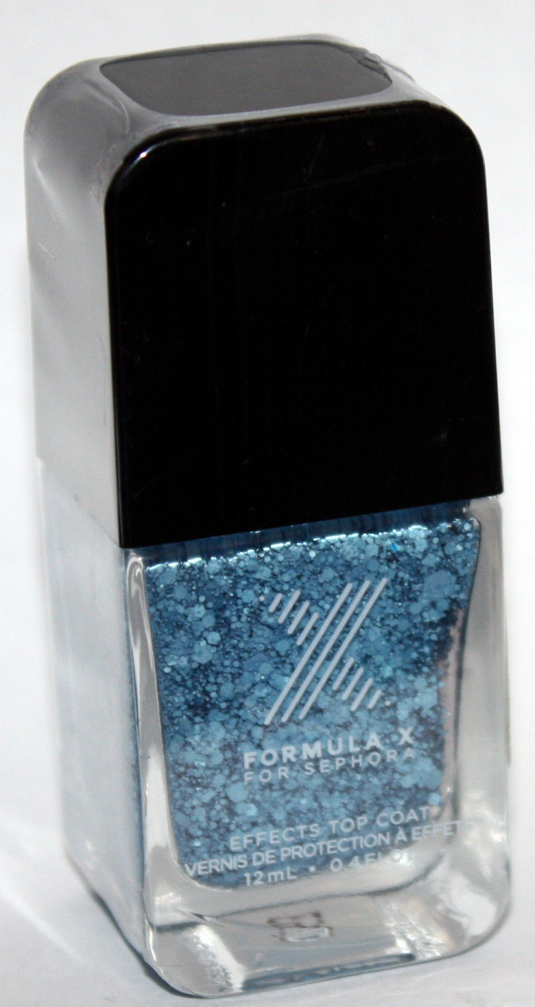 Boom Top Coat​ -FORMULA X For Sephora Effects Nail Color Polish Lacquer .4 oz