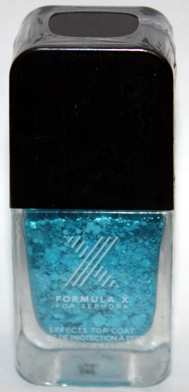 Crash Top Coat -FORMULA X For Sephora Effects Nail Color Polish Lacquer .4 oz