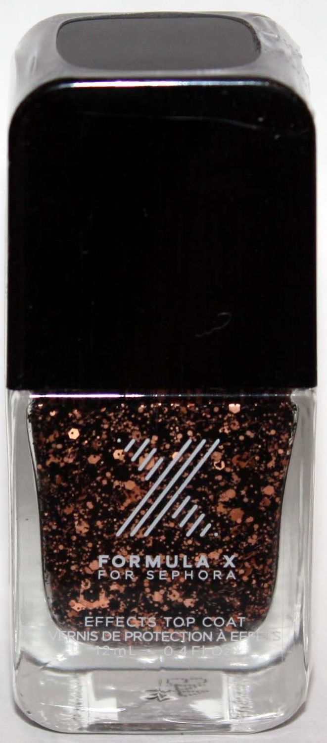 Bombshell Top Coat​ -FORMULA X For Sephora Effects Nail Color Polish Lacquer .4 oz