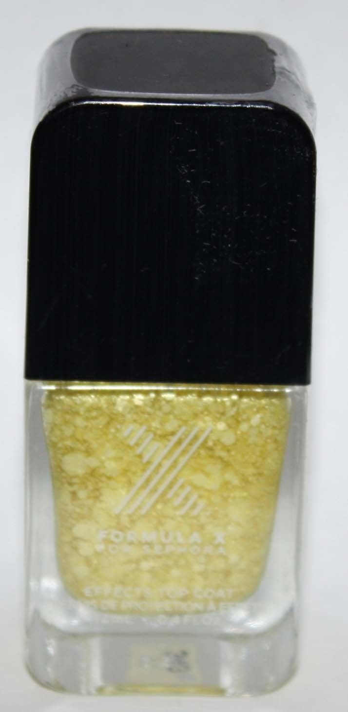 Mind Blowing Top Coat -FORMULA X For Sephora Effects Nail Color Polish Lacquer .4 oz