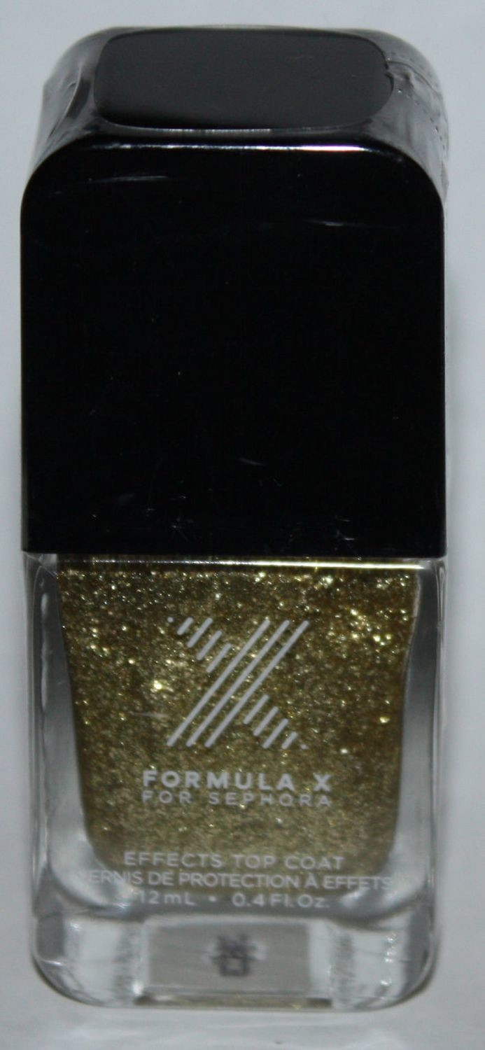 Boiling Point Top Coat -FORMULA X For Sephora Effects Nail Color Polish Lacquer .4 oz